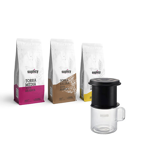 Kit Café Suplicy +Cafeor