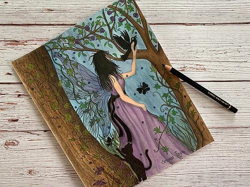 Enchanted Fairy in her garden