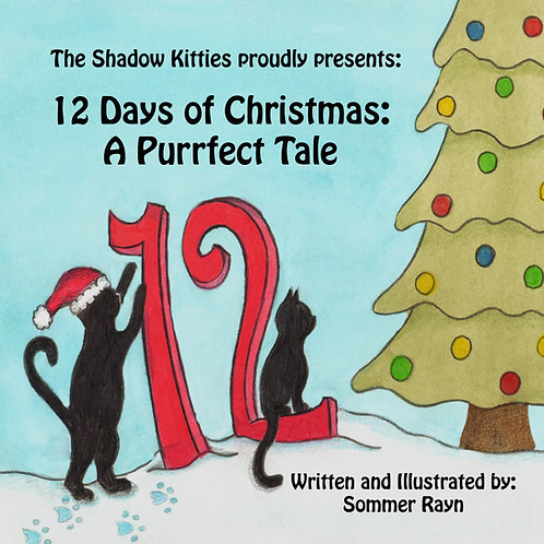 12 Days of Christmas:  A Purrfect Tale Children's book