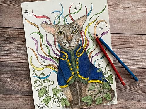 Magical Celebration Siamese Cat