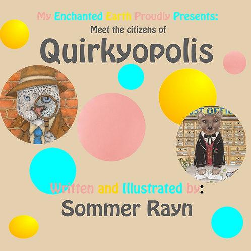 Quirkyopolis Book