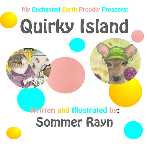 Quirky Island Book