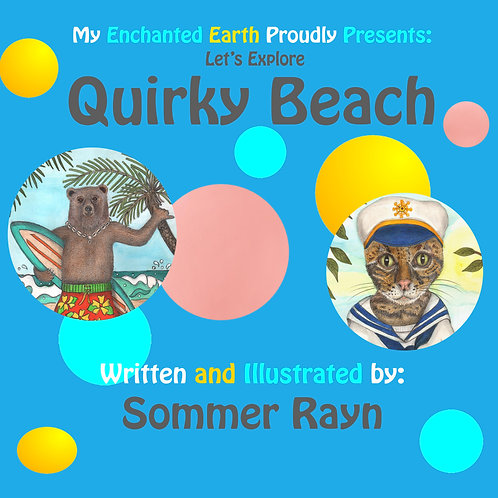 Let's Explore Quirky Beach Book