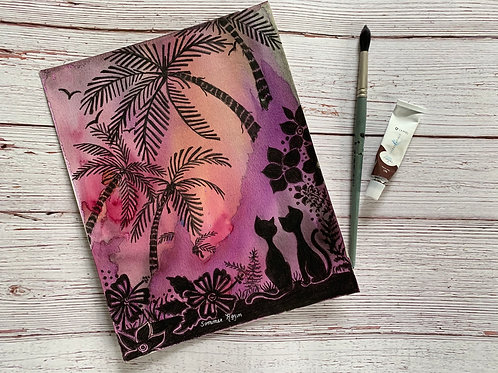 Tropical  Hawaiian Nights