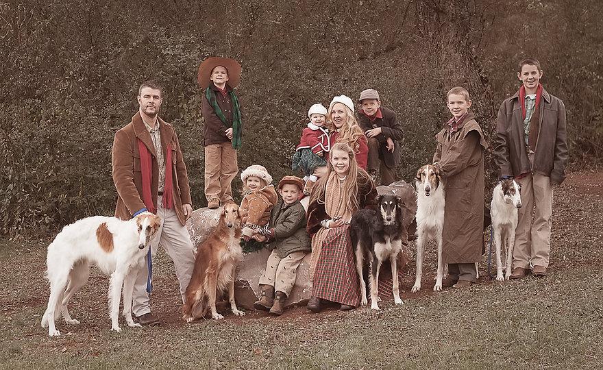 ivanhoeborzoiFull family&dogs2014.jpg
