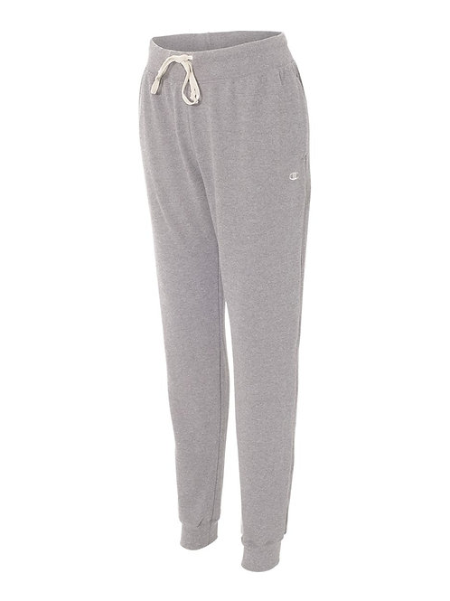 Champion G Code - Originals Women's French Terry Jogger{Oxford Grey}