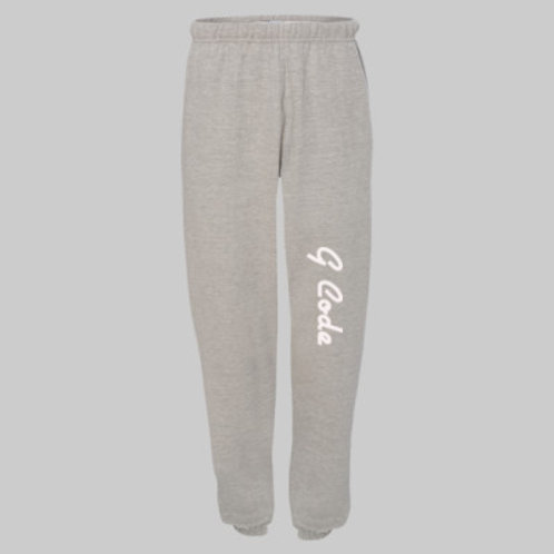 Champion G Code {Oxford Grey Heather} Reverse Weave® Sweatpants with Pockets