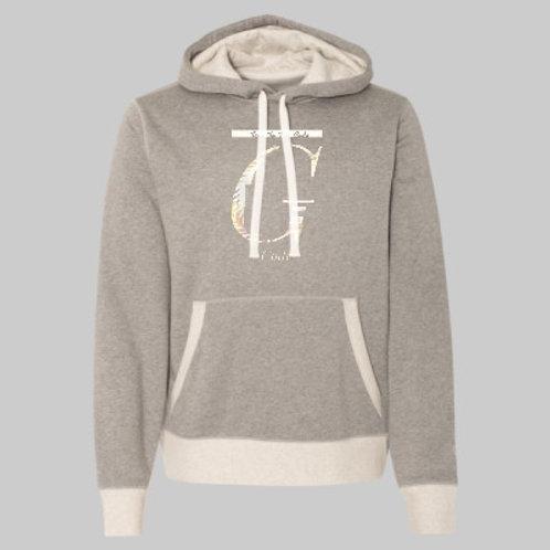 Limited Edition [Oxford Grey & Oatmeal] Champion G Code Hooded Sweatshirt
