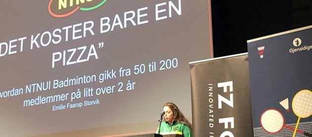 Fra studentidretten til Norges badmintonforbunds forbundsstyre