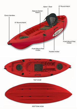 Malibu Kayak Mini X
