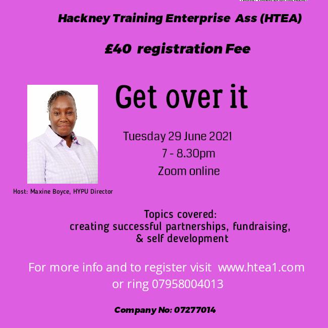 Get Over It - business webinar