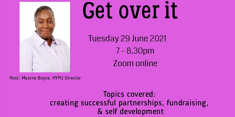 Get Over It - business webinar