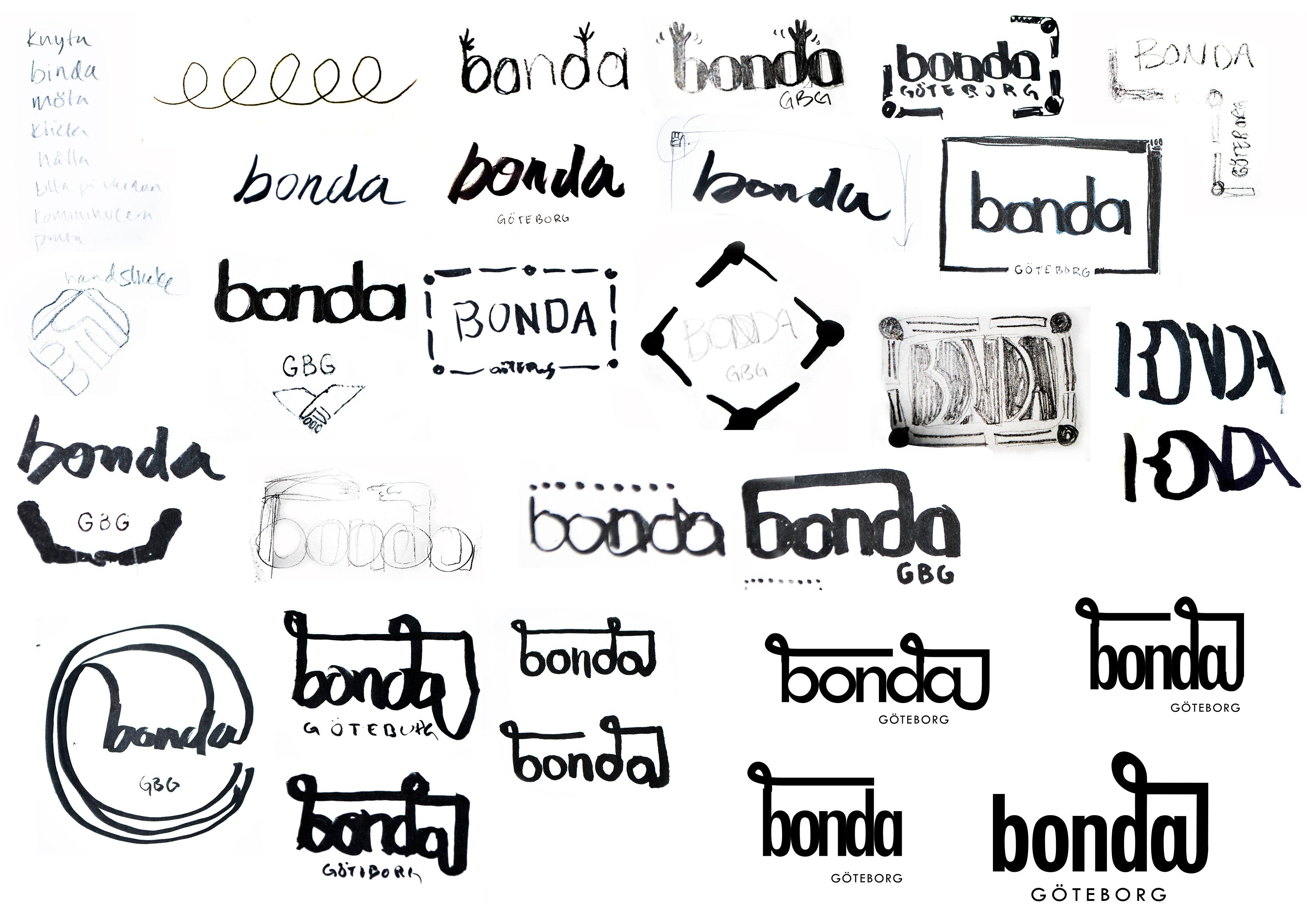 Logo designprocess