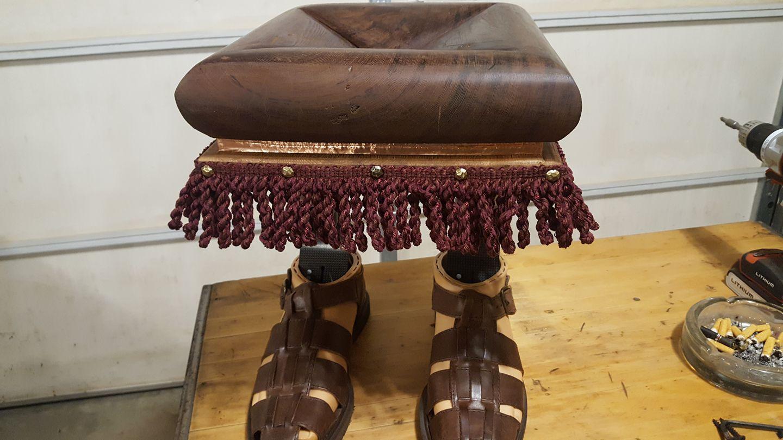 Jeff Harig Foot stool