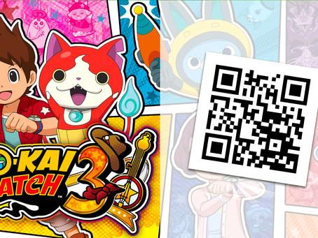 AKTIONEN |Mit diesen QR-Codes kannst du dir 6 seltene Yo-Kais holen