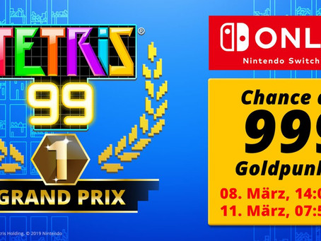 NEWS |Tetris 99 Grand Prix: Erster Online-Wettkampf im Puzzle-Spass