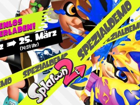 AKTIONEN |Demo für Splatoon 2 kommt mit kostenloser Testversion für Nintendo Switch Online