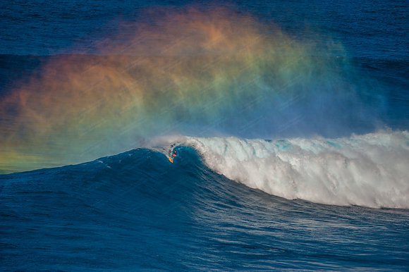 """Rainbow Rider"" Photographic Print"