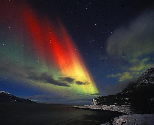 """Rainbow in the Dark"" Photographic Print"