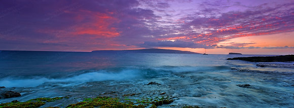 """Makena Point Pano"" MetalPrint"