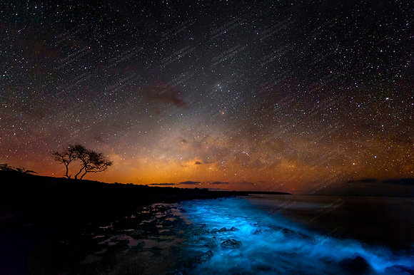 """Milky Way Bay"" MetalPrint"