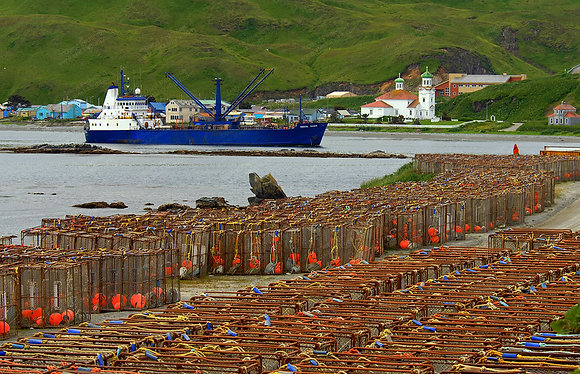 """Dutch Harbor"" MetalPrint"