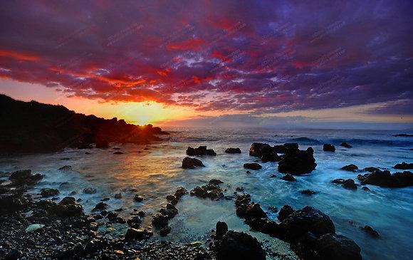 """5G Sunset"" Photographic Print"