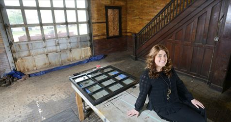 Restoring history, and a former fire house