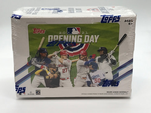 Topps 2021 Opening Day Blaster Box Factory Sealed - 77 Total Cards per box