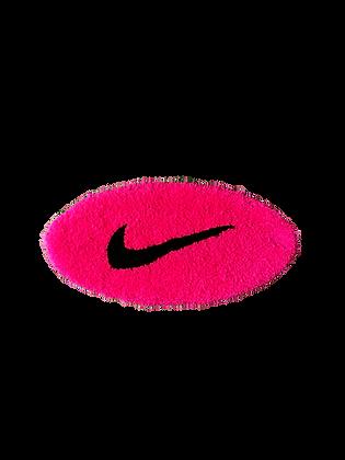 Small Swoosh - Neon Pink x Black