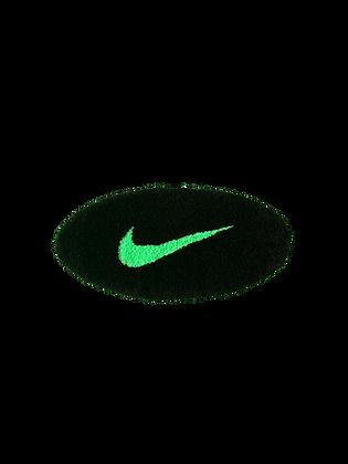 Small Swoosh - Black x Neon Green