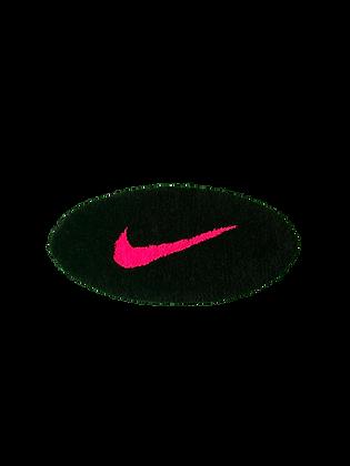 Small Swoosh - Black x Neon Pink