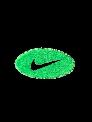Small Swoosh - Neon Green x Black