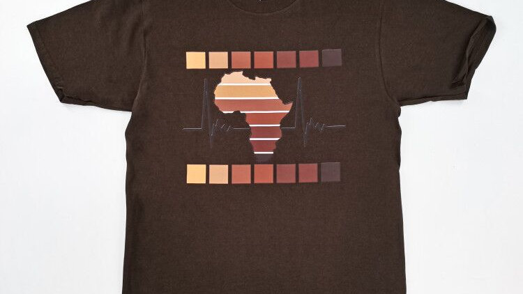 Rhythm of Africa unisex tshirt