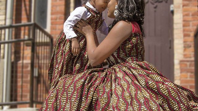 simi mom and i dress