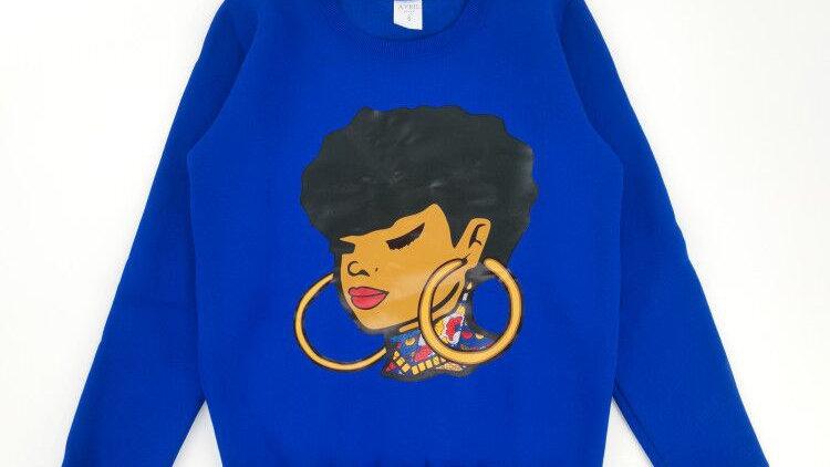 AFROgirl sweatshirt