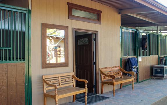 Entrancetotackroom.JPG