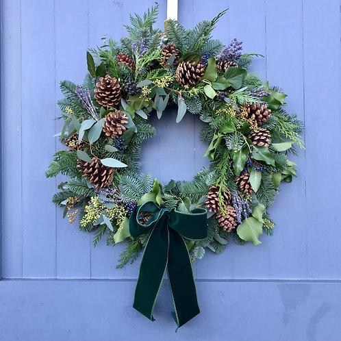 Lavender and Eucalyptus Wreath