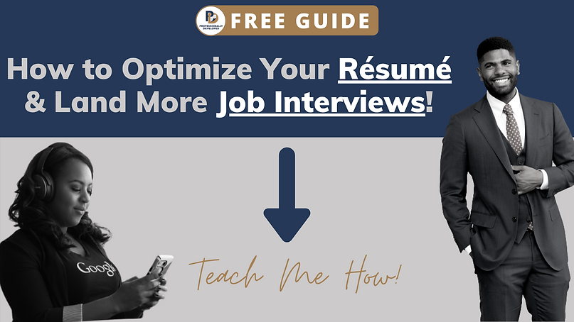 FREE GUIDE - How to Tailor Your Resume a