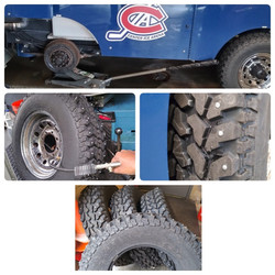 We service all kinds of tires.