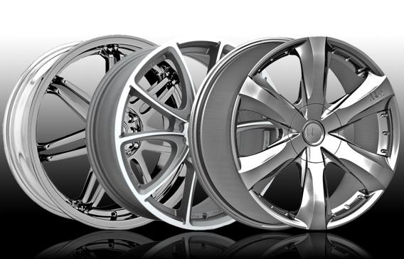 shiny wheels