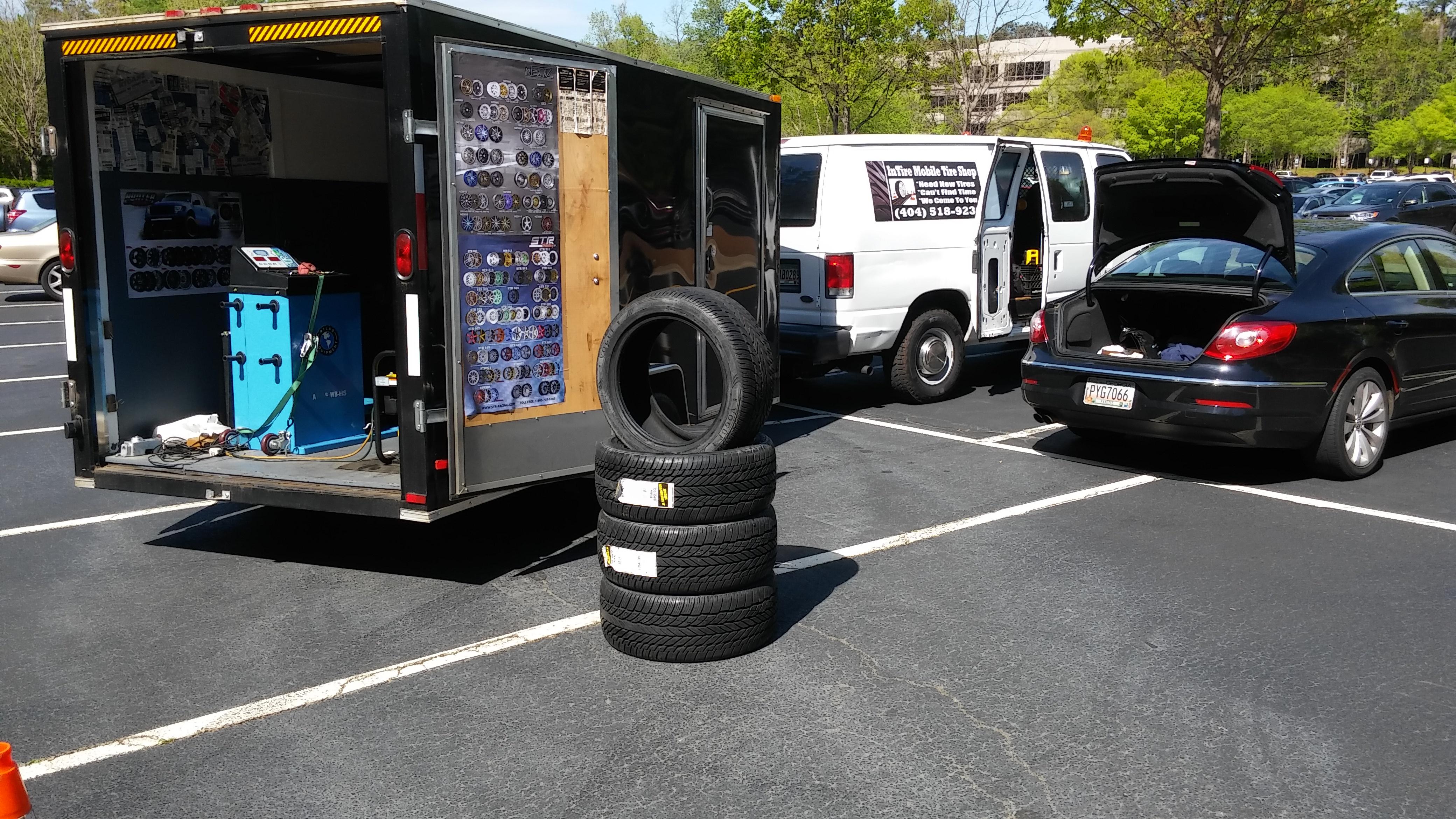 Nearest Used Tire Shop >> Mobile Tire Shop New Tires Atlanta Intire Mobile Tire Shop