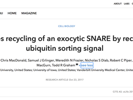 New paper published in eLife