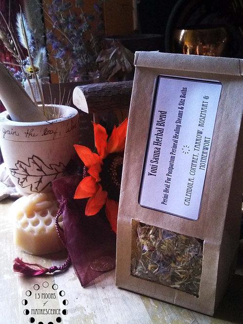Yoni Sauna/Sitz Bath Herbal Blend: Perini-Heal | 1 oz.