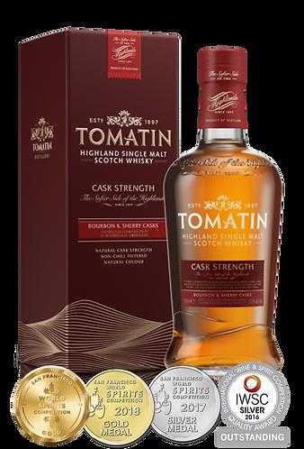 Tomatin Cask Strength Whisky 70cl 57.5% abv