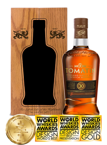 Tomatin 30 Years Single Malt Whisky 70cl 46%abv