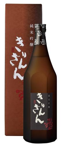 麒麟山  純米吟醸 Brown Bottle  ブラウンボトル 720ml