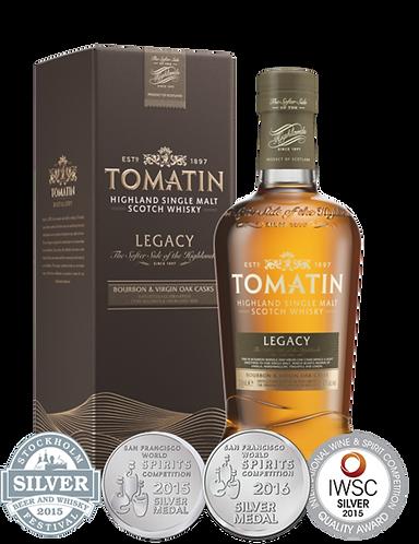 Tomatin Legacy Single Malt Whisky 70cl 43%abv