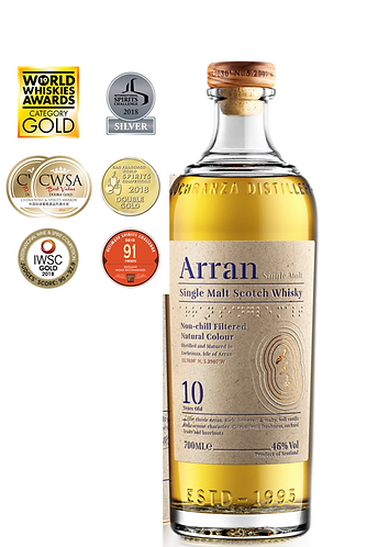 Arran Malt 10 Year-Old Whisky 46%  700ml