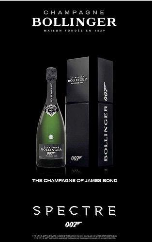 Bollinger James Bond 007 Spectre 2009 Champagne      2009年Bollinger占士邦007特別紀念版香檳